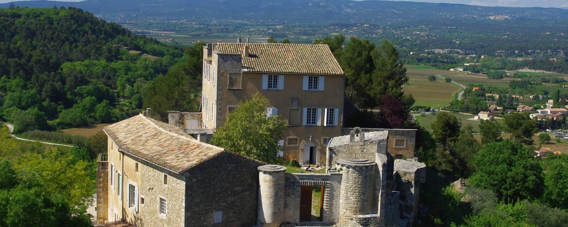 Ménerbes Le Castellet Nicolas de Stael artiste peintre abstrait luberon pays d'Apt