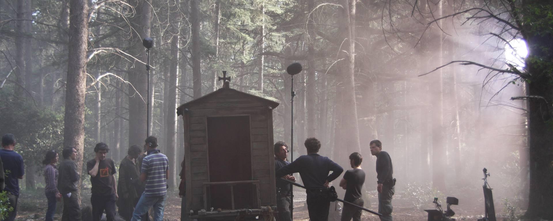 Luberon Vaucluse Colorado cinéma télévision film série Inquisitio forêt des cèdres bonnieux lacoste
