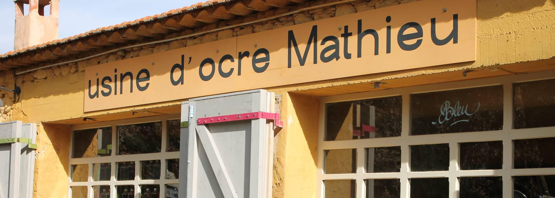 Usine d'Ocre Mathieu