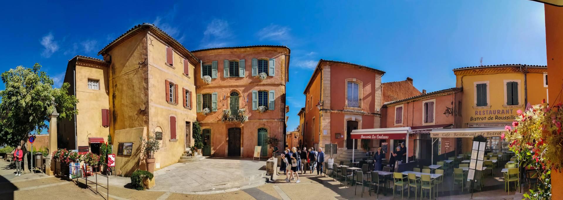 Roussillon Village Des Ocres Dans Le Luberon Classe Parmi Les Plus Beaux Village De France