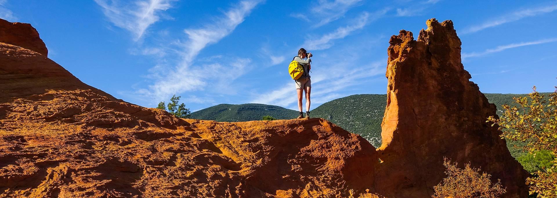 Colorado Provençal de Rustrel | Rustrel | Ocres | Ocres du Luberon