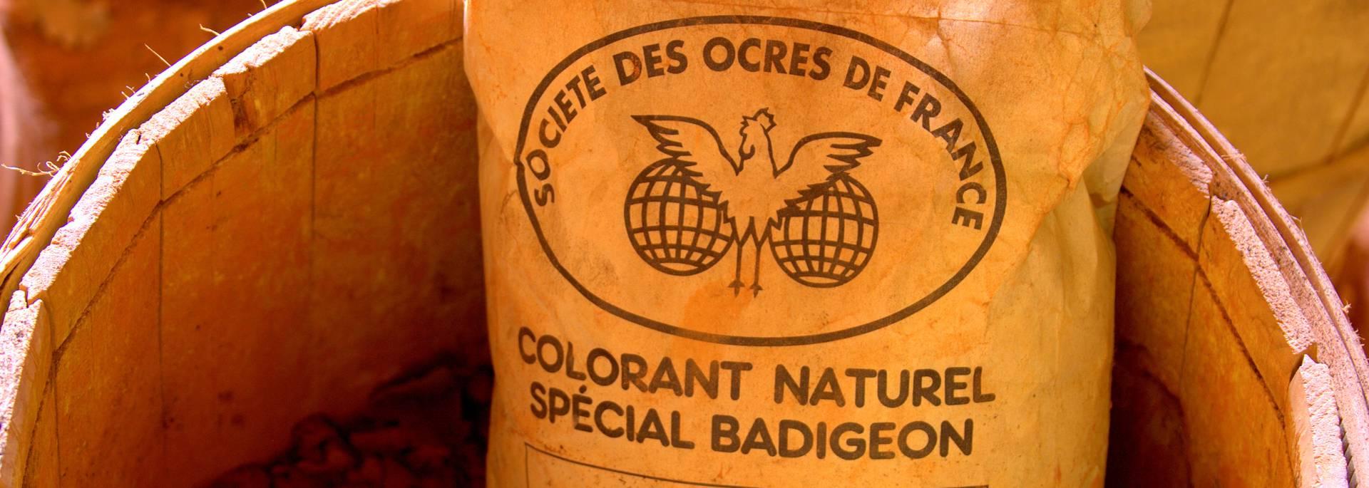 Société des Ocres de France | Ocres | Sac