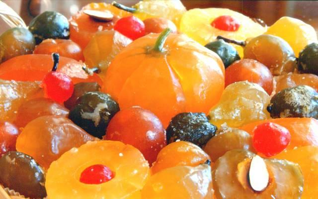 Le coulon | Fruits confits | M. Richaud | Les fleurons d'Apt | Produits du terroir | Spécialités d'Apt | Savoir faire Aptésien