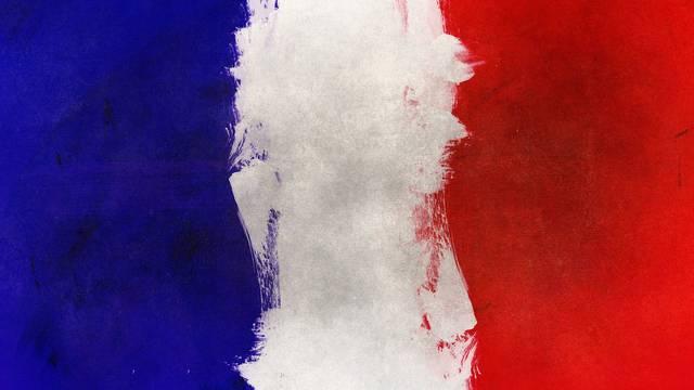 France | Drapeau | Peinture