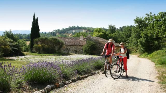 Autour du Luberon à vélo