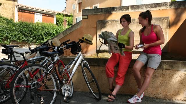 Les Ocres à vélo