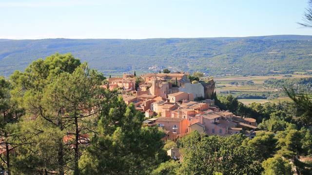 Roussillon|Village coloré | Ocres | Plus beaux villages de France