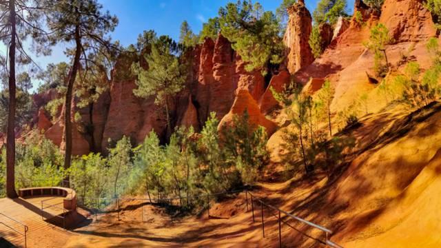 Ocres du Luberon | Ocres | Sentier des Ocres | Roussillon| La Chaussée des Géants