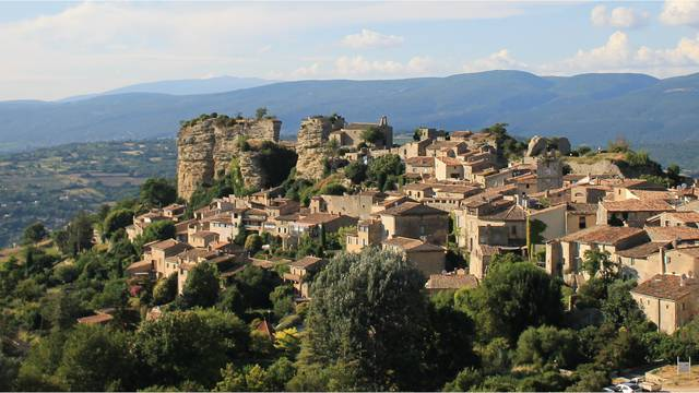 Saignon, village perché du Luberon