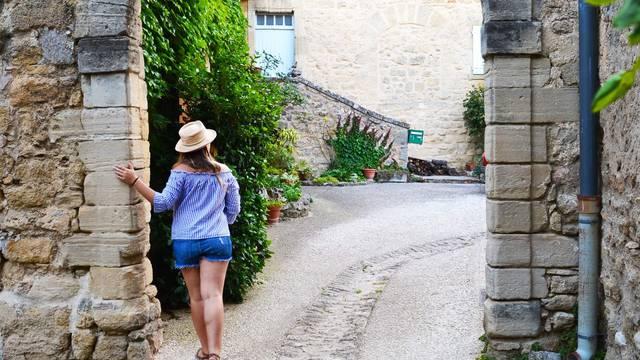 Village perché du Luberon | Viens | Porche