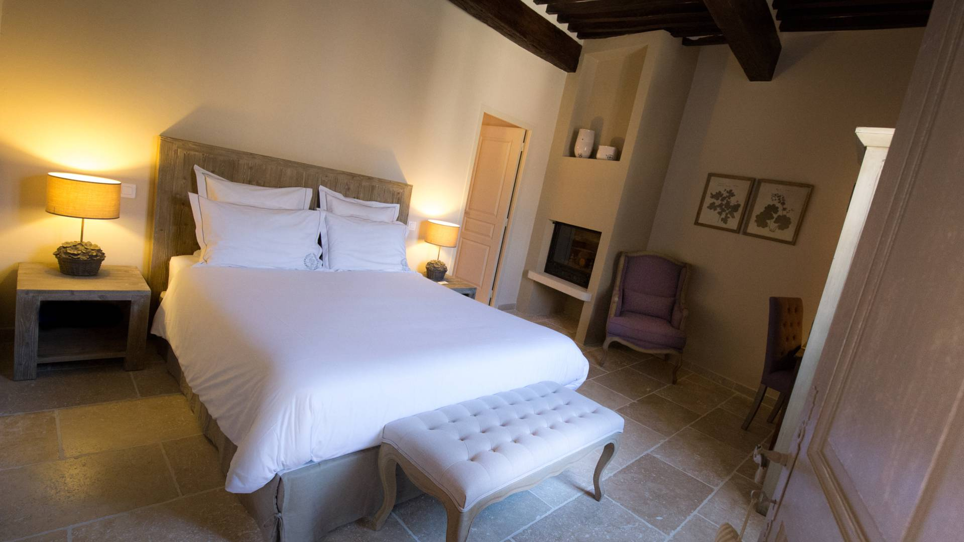 Chambres d'hôtes | La Bastide de Caseneuve |Chambre
