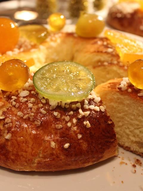 Gâteau des Rois aux fruits confits d'Apt