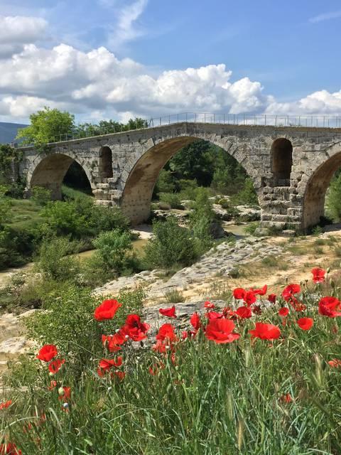 Pont Julien Apt Luberon ville romaine romanité Antiquité Provence