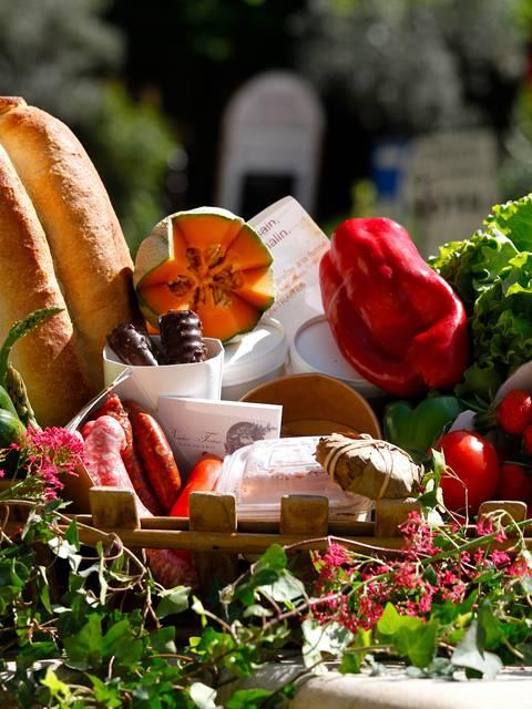 Panier de bienvenue | Panier 100 % local du luberon | Produits frais | Plats fait maison | Fruits | Légumes