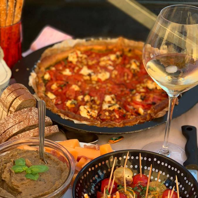 Apéritif provençal | Biscuit | Tapenade
