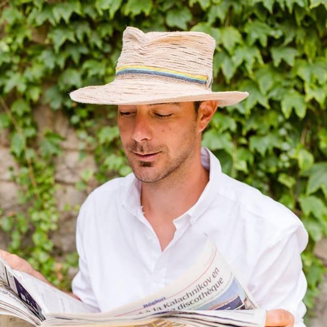 Chapeau artisanal | Margotulle