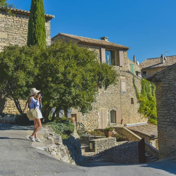 Village de Goult dans le Luberon