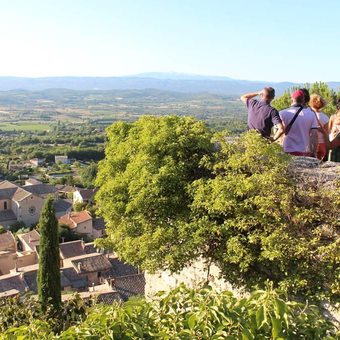 Visites guidées en Luberon | Vue panoramique | Village perché de Bonnieux