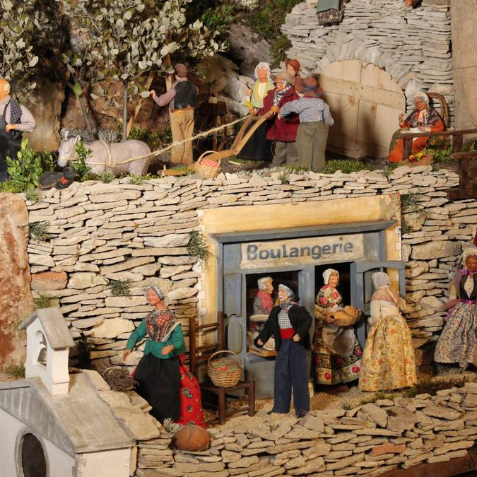 Boulangerie et santons de Provence