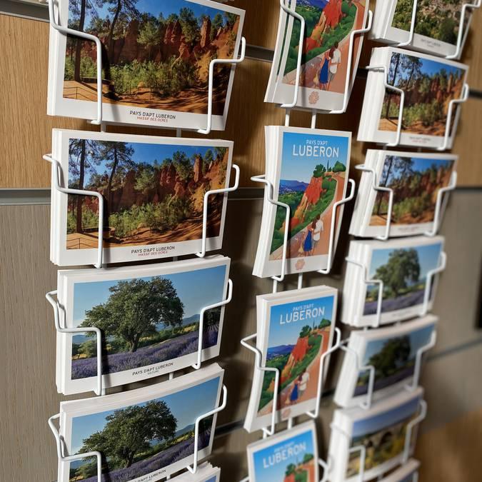Cartes postales du Pays d'Apt Luberon  | Ocres du Luberon | Provence