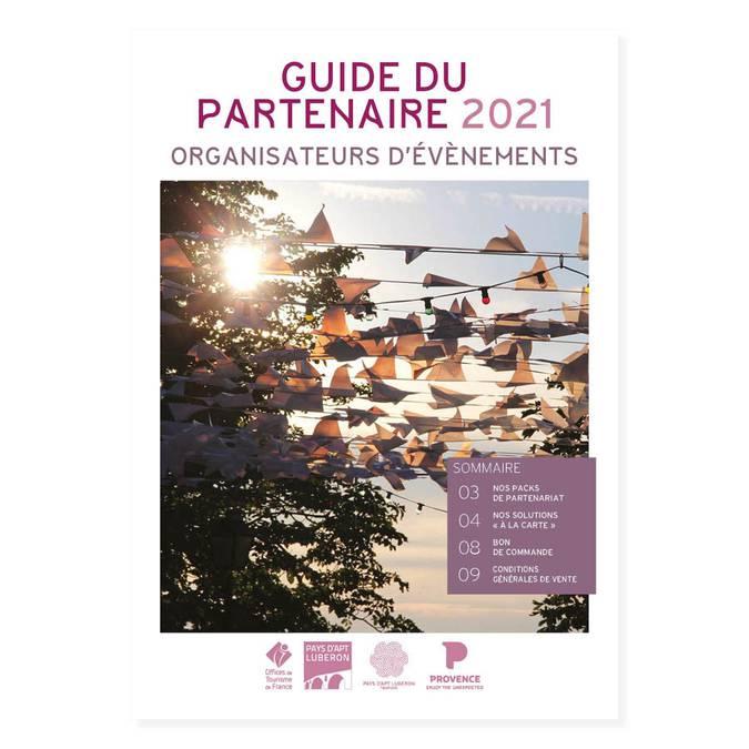 Guide du partenaire Organisateur d'événement 2021