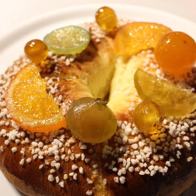 Décoration Fruits confits Gâteau des Rois