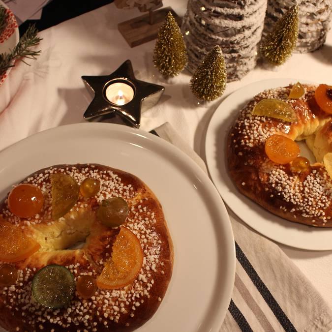 Gâteau des Rois Table de Fêtes Epiphanie
