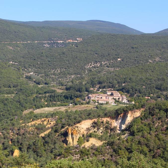 Village de Gignac dans le Luberon