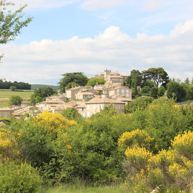 Village perché du Luberon | Murs