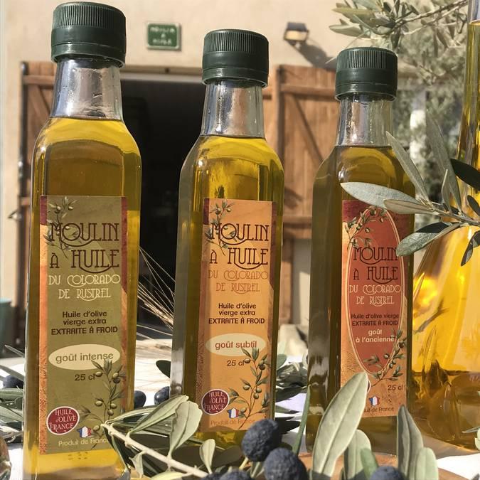 Huile d'Olive du Moulin du Colorado à Rustrel