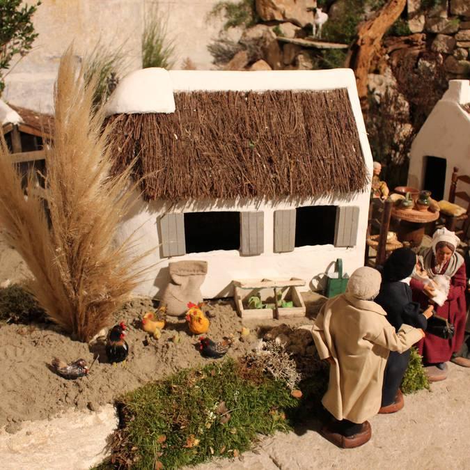 Maison de Camargue Crèche provençale