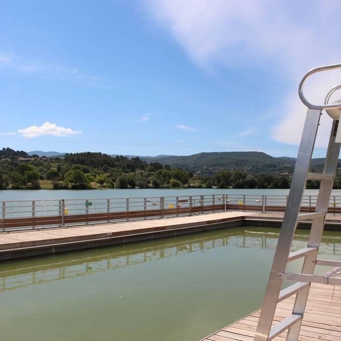 Plan d'eau de la Riaille | Base de loisirs |  Zone de baignade