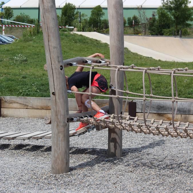 Plan d'eau de la Riaille | Base de loisirs |  Jeux d'enfants