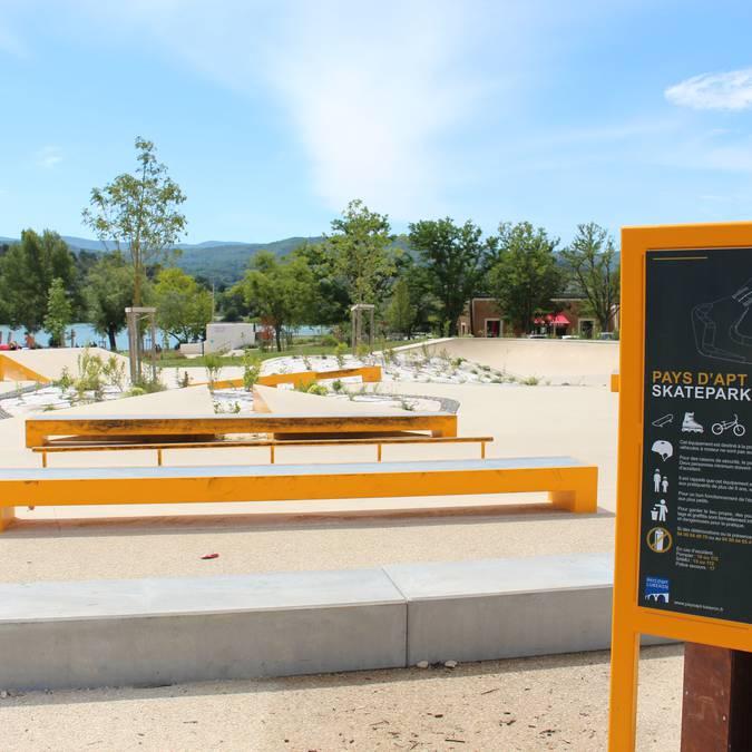 Plan d'eau de la Riaille | Base de loisirs | Skatepark