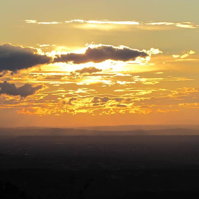 Coucher de soleil | Luberon