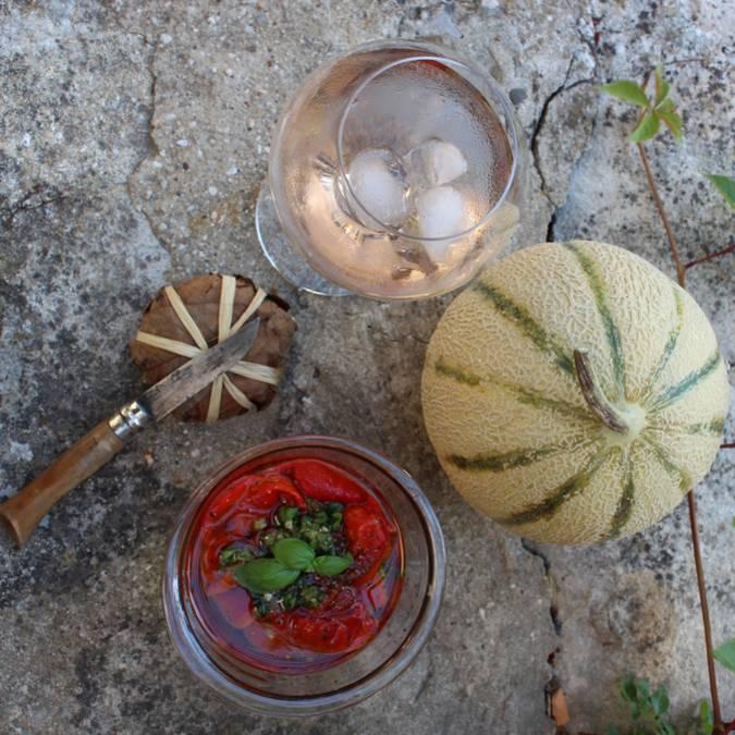 Apéritif Provence | Melon | Fromage