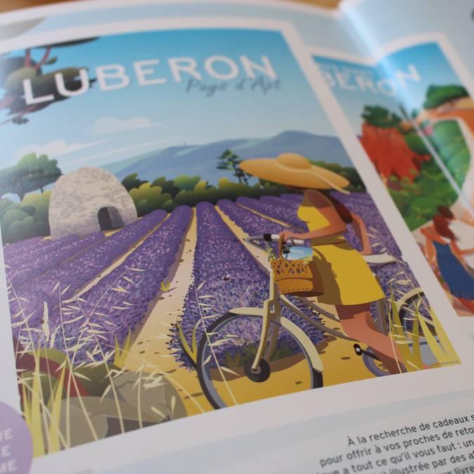Magazine   Sommaire   Provence   Luberon   Illustration   Page