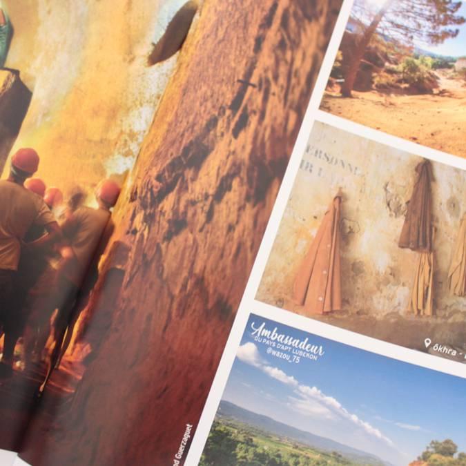 Page   Magazine   Ocre   Luberon