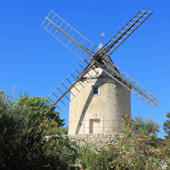 Moulin à blé de Joucas