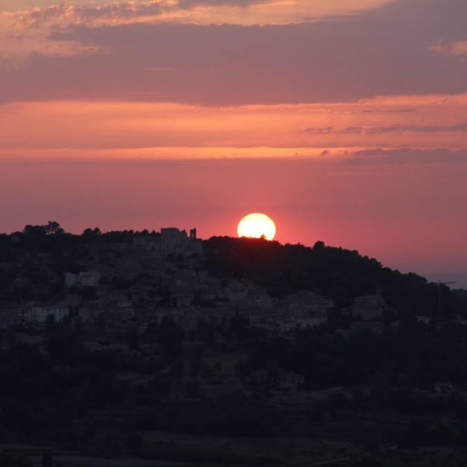 Coucher de soleil | Luberon | Provence | Vue