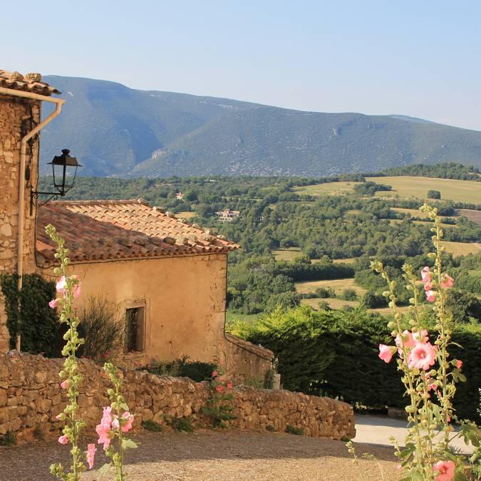 Coucher de soleil | Château | Caseneuve | Provence