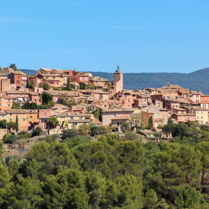 Village   Roussillon   Ocre