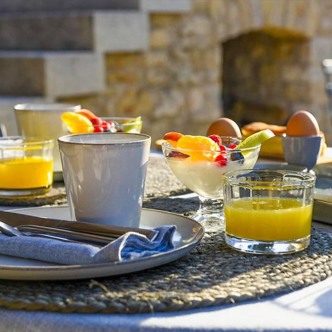 Petit-déjeuner | Chambres d'hôtes | Maison Valvert | Bonnieux