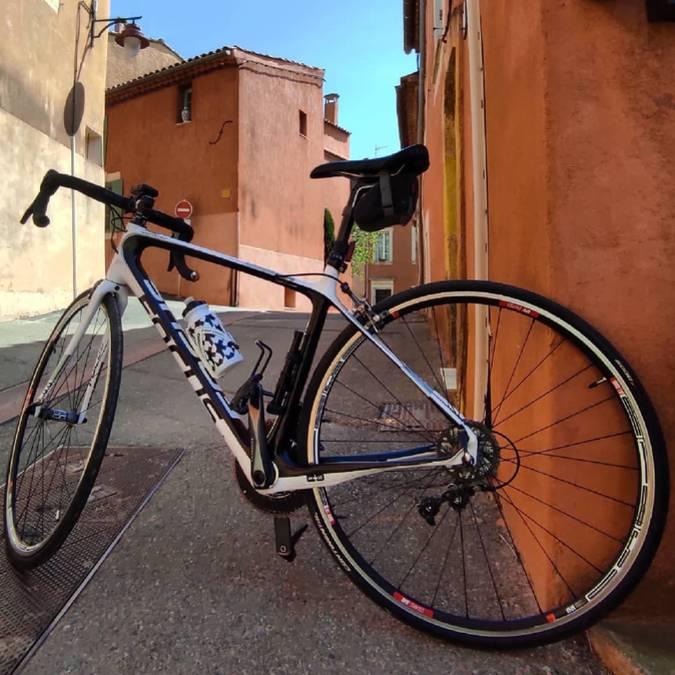 Vélo à Roussillon